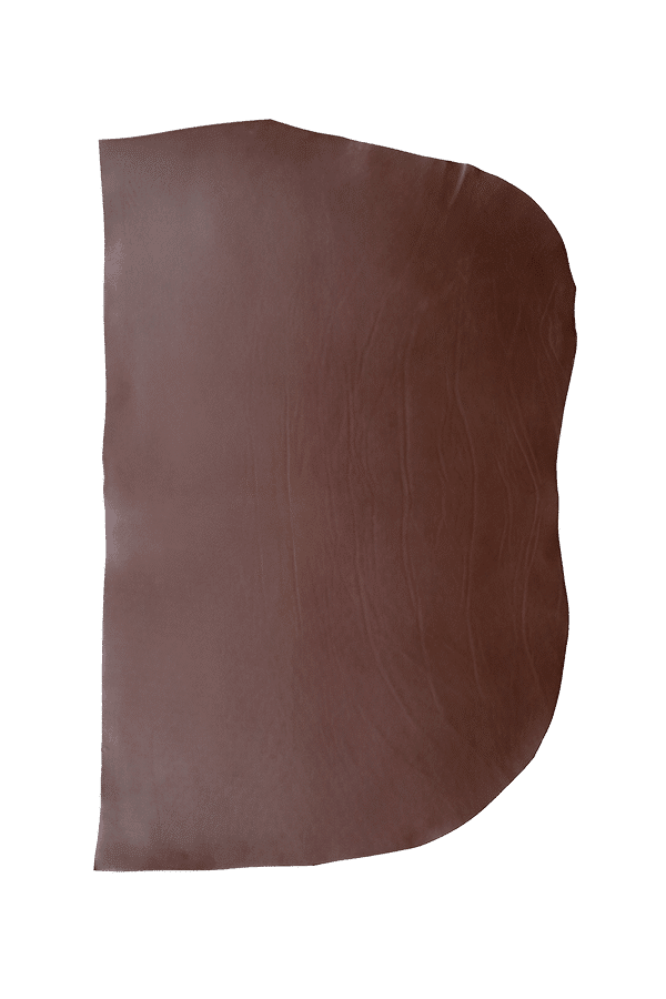 Double Shoulder Brown Hide