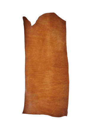 English Bridle Bend Tan Hide