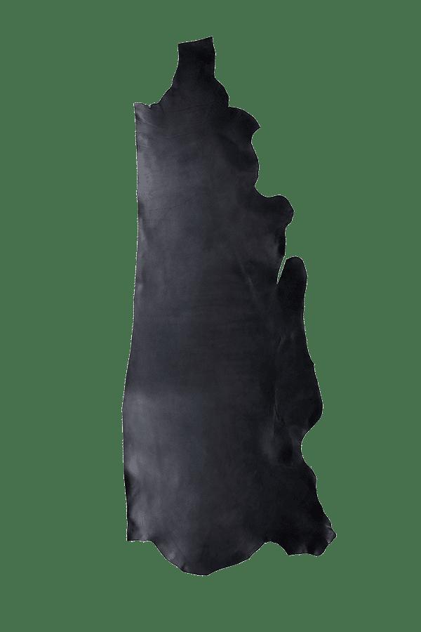 Latigo Side Black Leather Hide